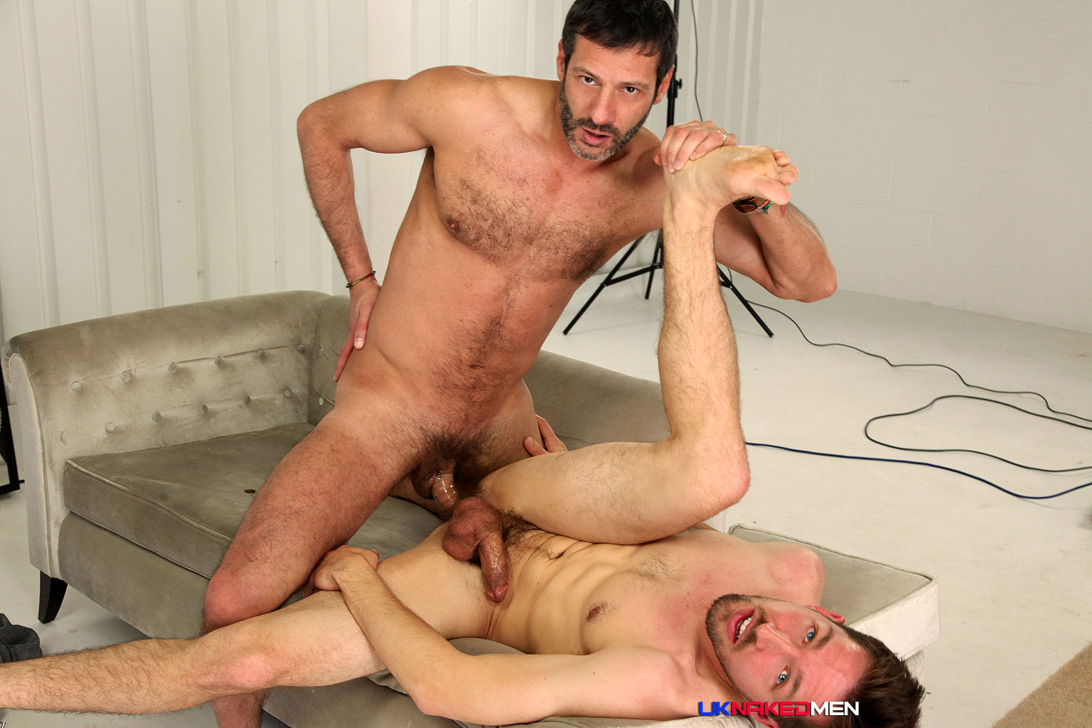 UK-Naked-Men-Antionio-Garcia-and-Jason-Stark-and-Valentin-Alsina-Huge-Cock-Fucking-Amateur-Gay-Porn-11 Peeping Tom Watches Two Masculine Uncut Guys Fucking