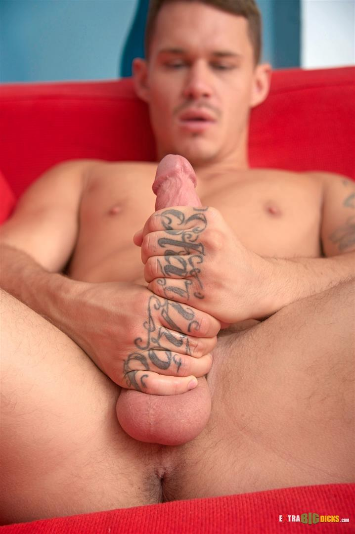 Extra Big Dicks Tate Ryder Huge Cock Jerkoff Masturbation Amateur Gay Porn 14 Sexy Amateur Tate Ryder Strokes His Huge Cock Until It Shoots Cum