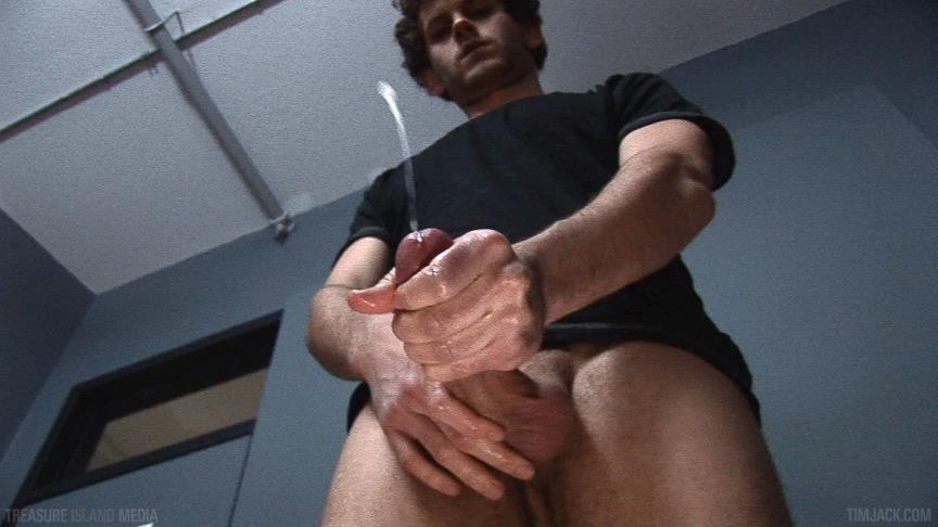 "Treasure-Island-Media-TimJACK-Wolf-Hall-8-Inch-Cock-Masturbation-Amateur-Gay-Porn-07 Treasure Island Media: Wolf Hall Strokes Out A Load From His 8"" Cock"