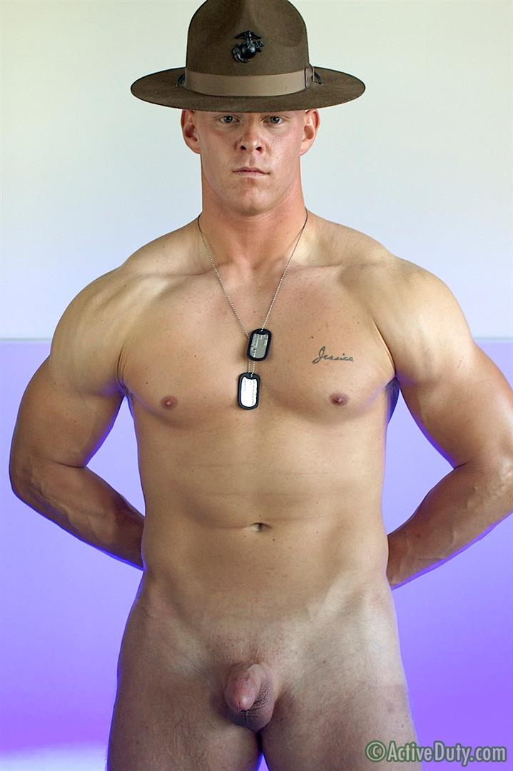 Active-Duty-Dane-Muscle-Straight-Marine-Jerking-His-Cock-Amateur-Gay-Porn-19 Amateur Straight Redheaded Muscle Marine Jerking Off In Uniform