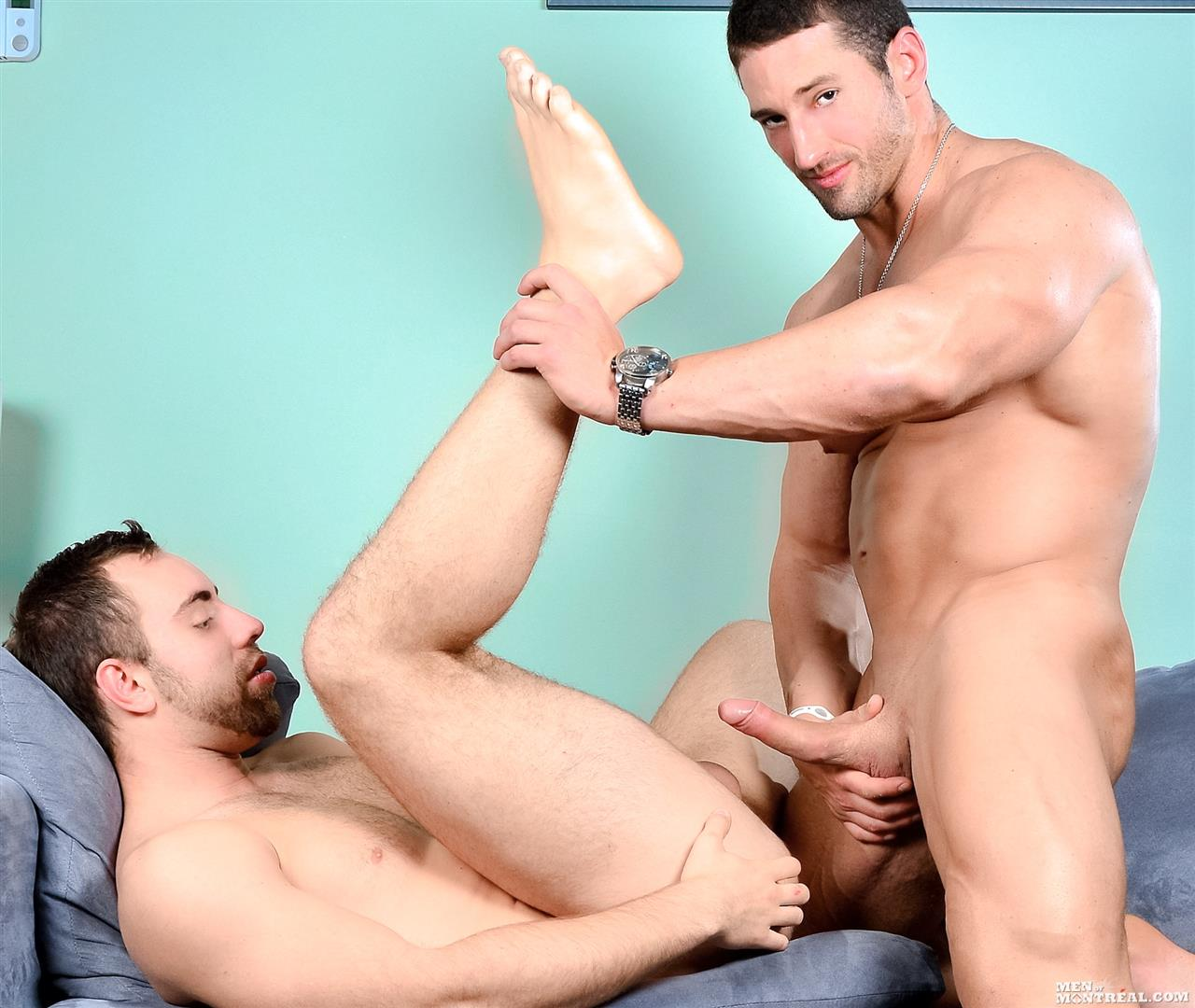 Men of Montreal Alec Leduc and Christian Power Muscle Body Builders Fucking Big Uncut Cocks Amateur Gay Porn 14 Big Uncut Cock Amateur Canadian Body Builders Fucking Hard