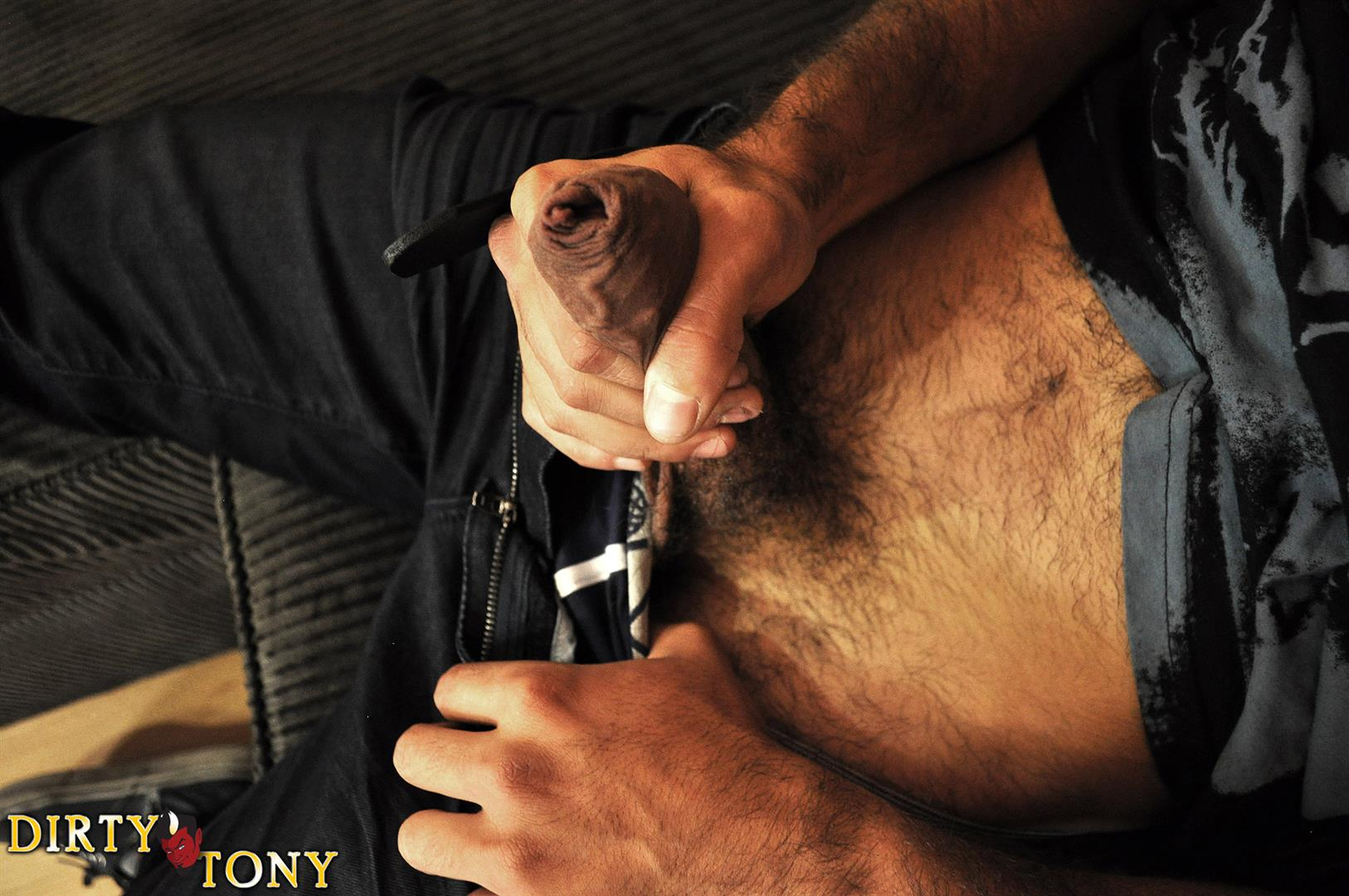 Dirty Tony ALEX CANON Hairy Muscle Guy Jerking A Huge Uncut Cock Amateur Gay Porn 03 Amateur Hairy Muscle Stud Playing With His Big Uncut Cock