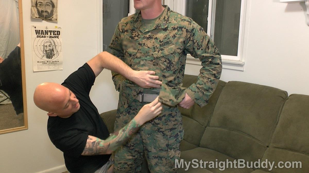 My Straight Buddy Joe and Nick Marine Gets His Cock Sucked Amateur Gay Porn 01 Mystery Marine In Uniform Gets A Blow Job From Another Guy