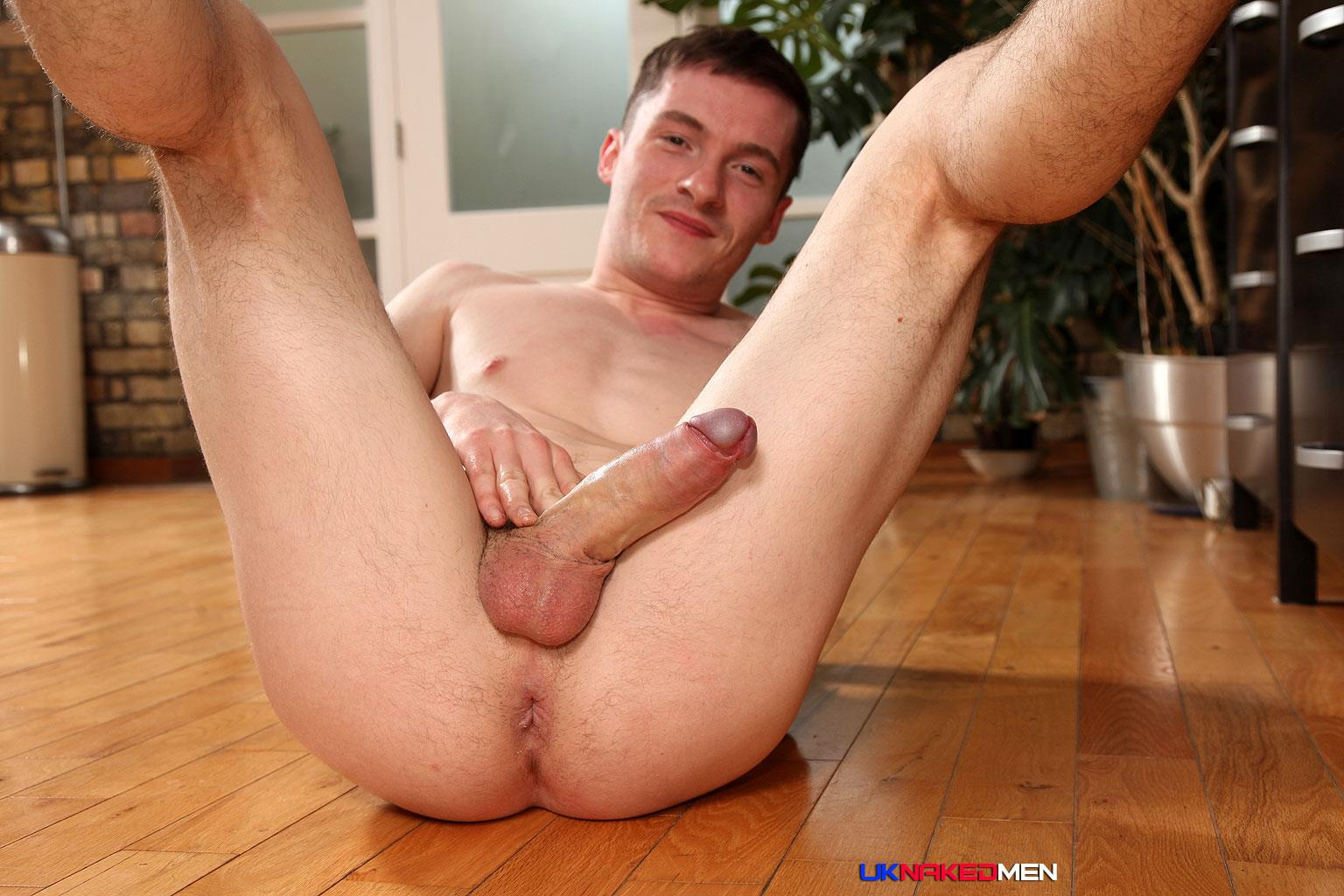 UK-Naked-Men-Daniel-James-Young-British-Guy-Jerking-His-Big-Uncut-Cock-Amateur-Gay-Porn-18 Young British Guy Jerking Off A Huge Uncut Cock