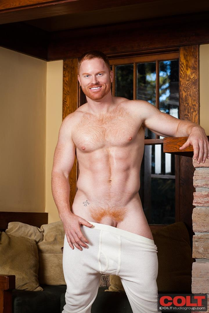 COLT-Seth-Fornea-Hairy-Redheaded-Muscle-Hunk-Jerkoff-Amateur-Gay-Porn-17 Newest Colt Model Redhead Muscle Stud Seth Fornea Jerking Off