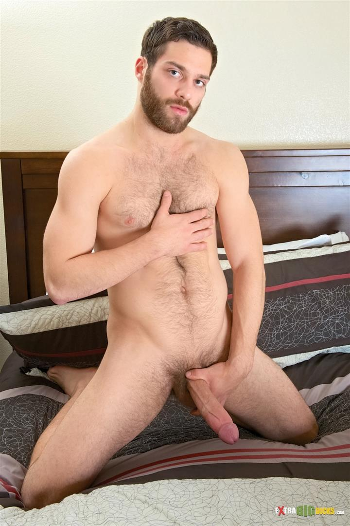 Extra-Big-Dicks-Tommy-Defendi-Hairy-Muscle-Guy-Jerking-Off-Amateur-Gay-Porn-08 Hairy Muscle Stud Tommy Defendi Jerking Off His Big Thick Cock