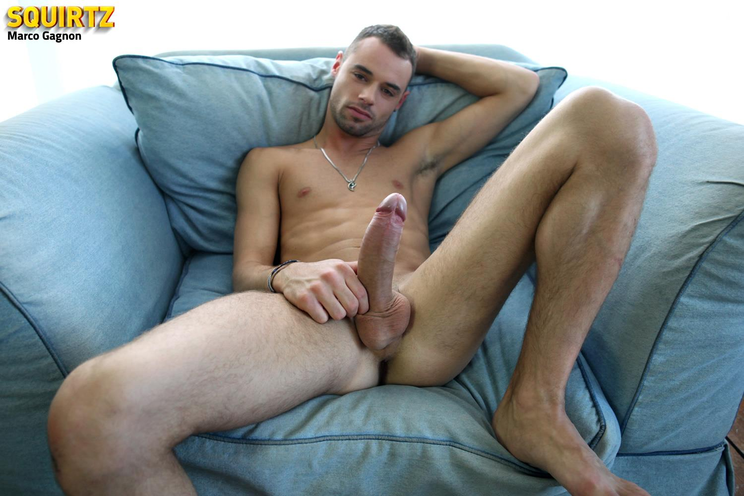 Squirtz-Marco-Gagnon-Twink-With-A-Massive-Uncut-Cock-Jerk-Off-Amateur-Gay-Porn-18 Young and Hung Marco Gagnon Stokes His Massive Uncut Cock