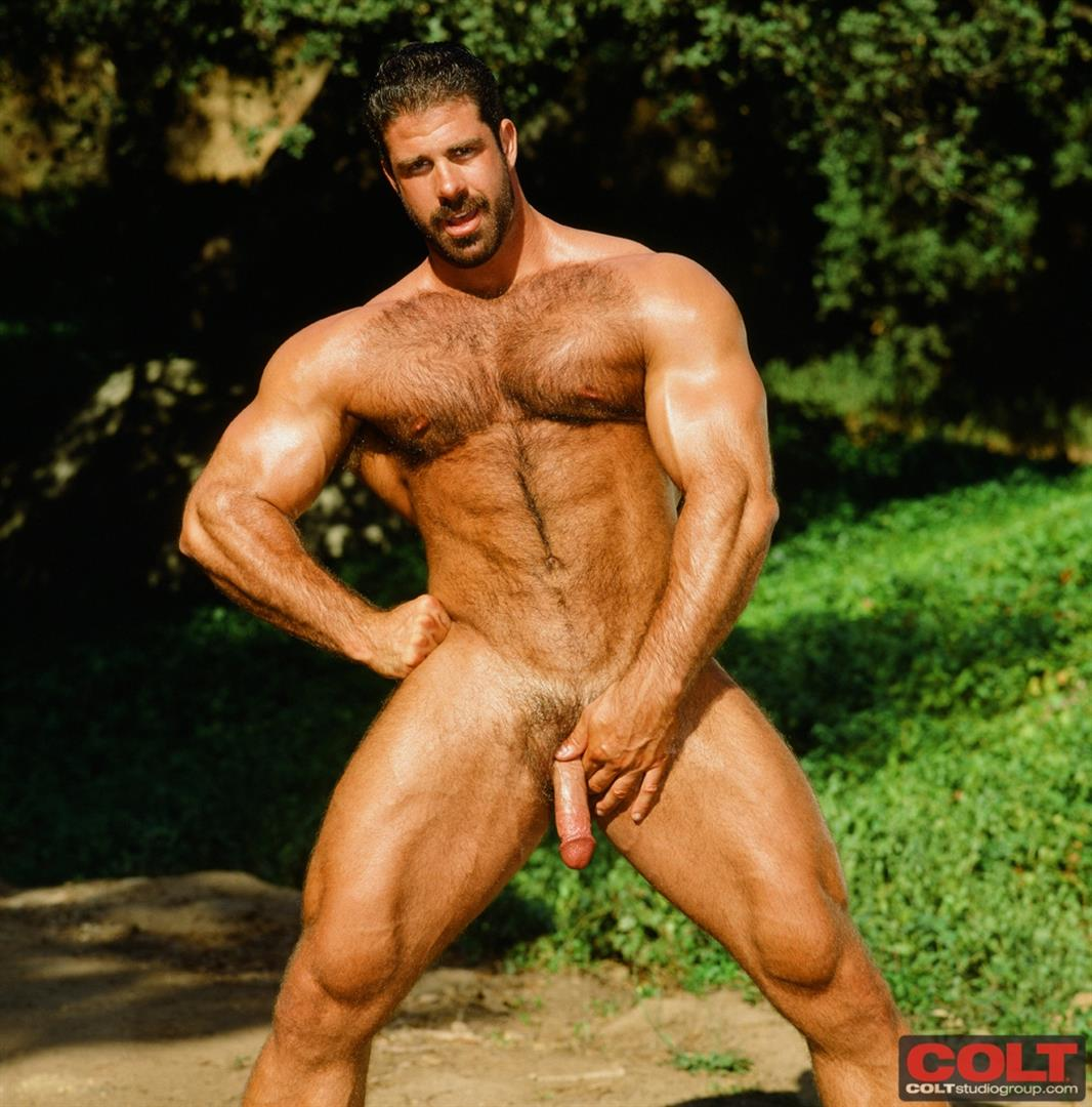 Colt-Studio-Group-Pete-Kuzak-Hairy-Muscle-Hunk-With-Hairy-Cock-Amateur-Gay-Porn-06 Hairy Muscle Hunk Colt Icon Pete Kuzak Showing It All