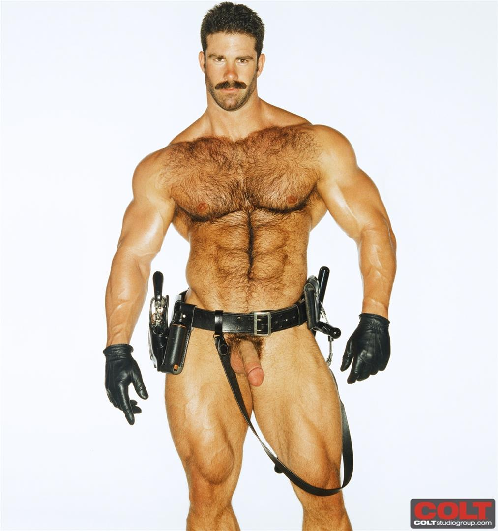 Colt-Studio-Group-Pete-Kuzak-Hairy-Muscle-Hunk-With-Hairy-Cock-Amateur-Gay-Porn-09 Hairy Muscle Hunk Colt Icon Pete Kuzak Showing It All