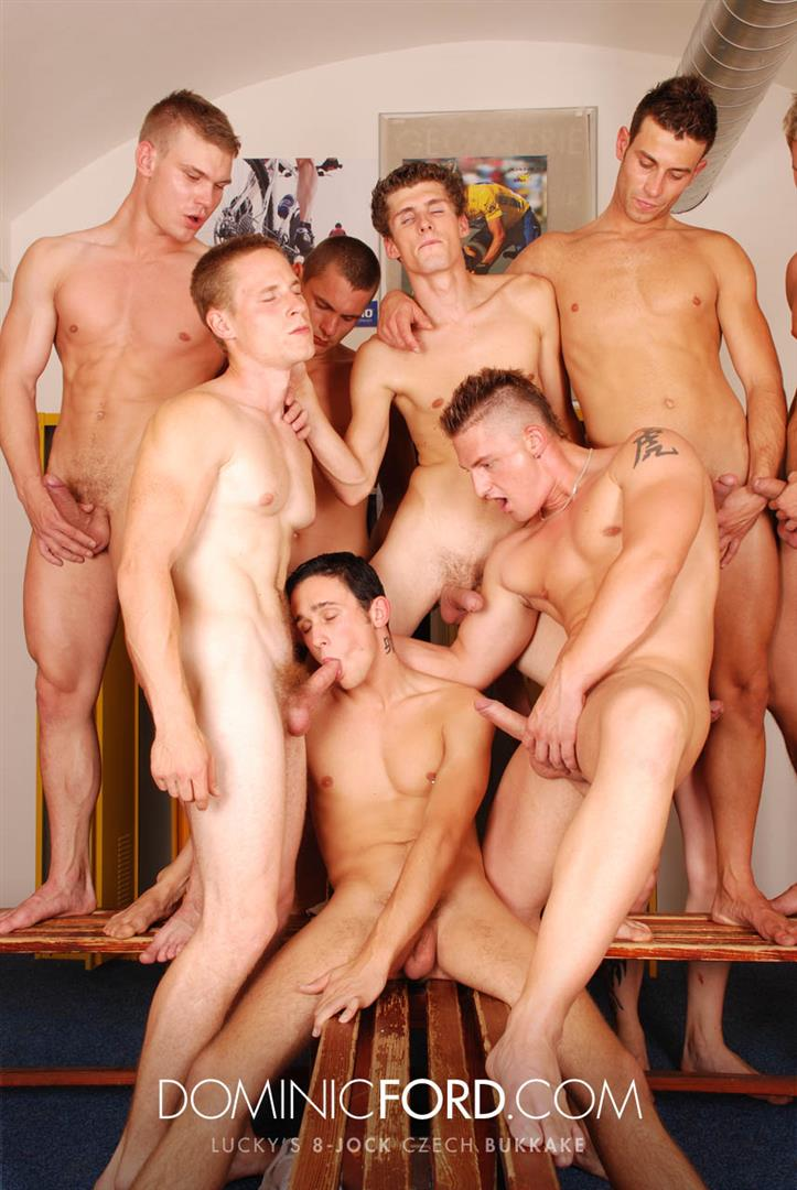 Dominic Ford 8 Guy Jocks Big Uncut Cock Bukkake Czech Amateur Gay Porn 363 Amateur Czech Uncut Jocks Giving One Lucky Guy An 8 Man Bukkake