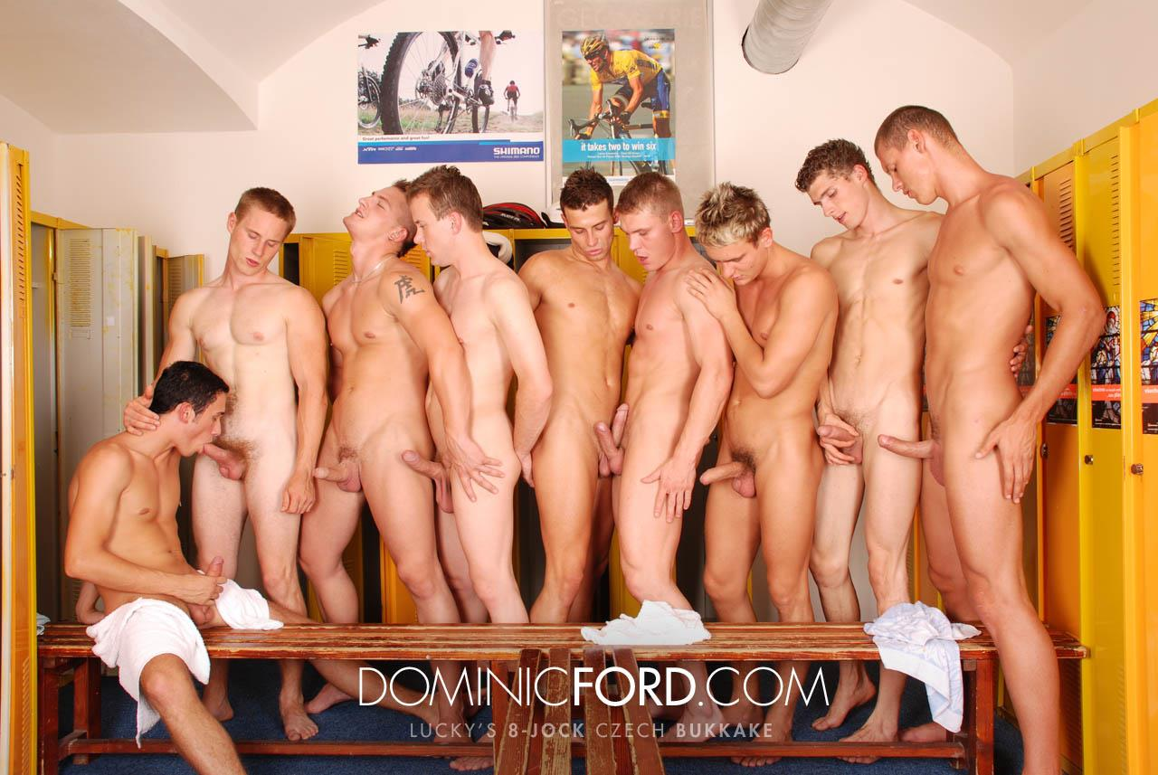 Dominic Ford 8 Guy Jocks Big Uncut Cock Bukkake Czech Amateur Gay Porn 388 Amateur Czech Uncut Jocks Giving One Lucky Guy An 8 Man Bukkake