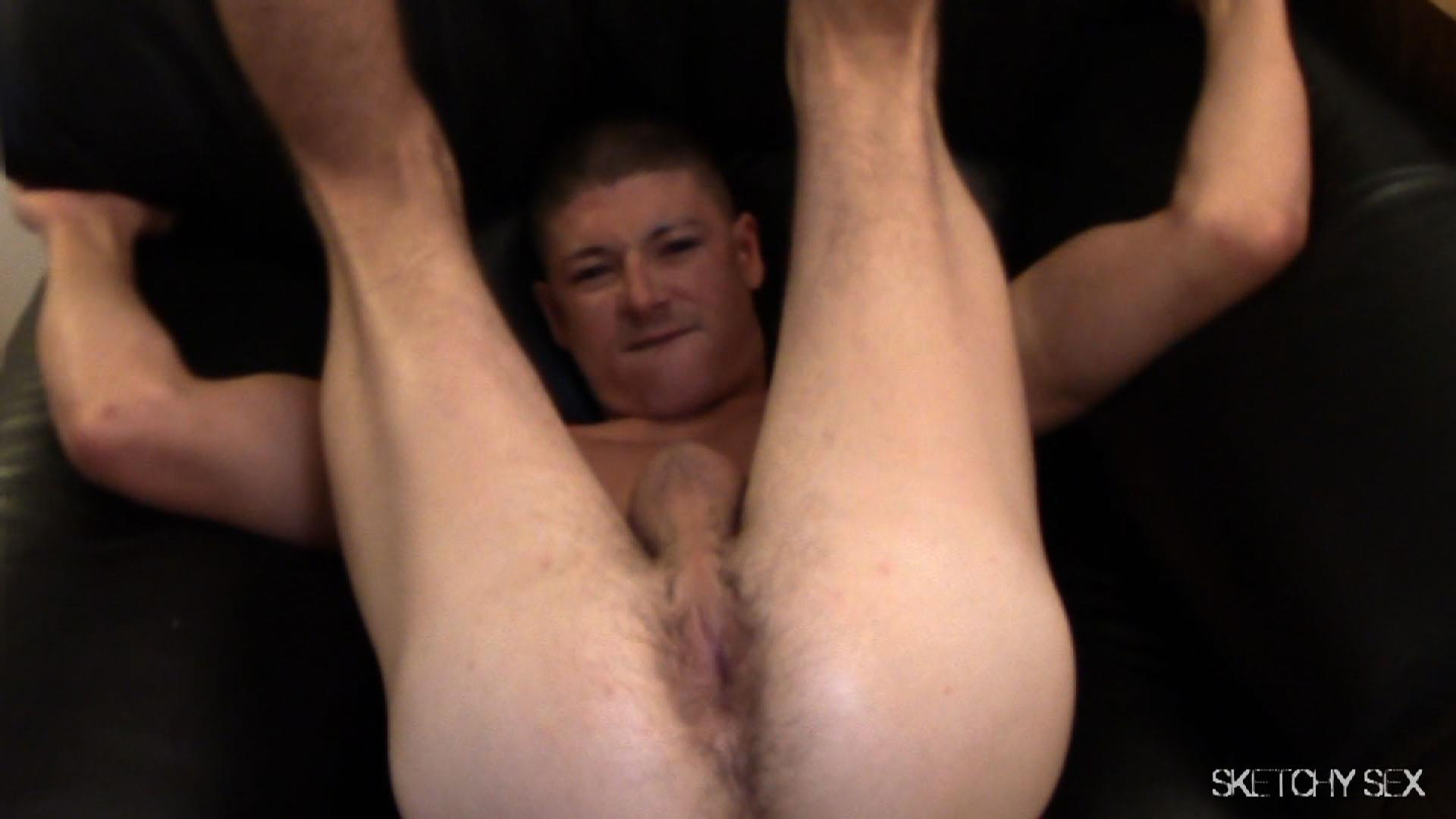 "Sketchy-Sex-Nate-Getting-Fucked-Bareback-By-A-10-Inch-Craigslist-Cock-Amateur-Gay-Porn-03 Taking A 10"" Craigslist Cock Bareback While The Roommate Watches"