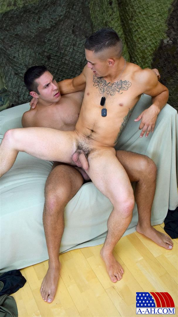All-American-Heroes-Seth-and-Roque-Army-Private-Barebacking-a-Marine-Amateur-Gay-Porn-09 Army Private Barebacks A Marine Corporal With His Big Uncut Cock