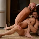 Men-Drill-My-Hole-Max-Sargent-and-Mike-Tanner-Thick-Cock-Daddys-Fucking-Amateur-Gay-Porn-08-150x150 Hairy Muscle Daddy's Fucking In The Kitchen And Eating Cum