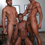 Next Door Ebony Damian Brooks and XL and Andre Donovan Black Naked Men Fucking Amateur Gay Porn 11 150x150 Three Naked Black Men, Three Big Black Cocks, One Juicy Booty