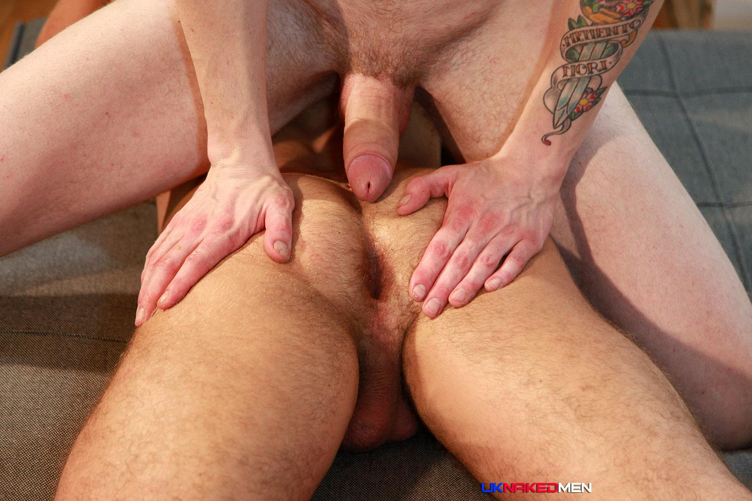 UK Naked Men AJ Alexander and Patryk Jankowski Big Uncut Cock Bareback Sex Amateur Gay Porn 22 Hairy Muscle Hunk Gets Fucked By A Scottish Guy With A Big Uncut Cock