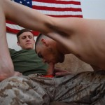 All American Heroes Jett and Alex Naked Army Guy Gets First Gay Blowjob Amateur Gay Porn 05 150x150 Straight Army Private Gets A Foot Massage and His First Gay Blow Job