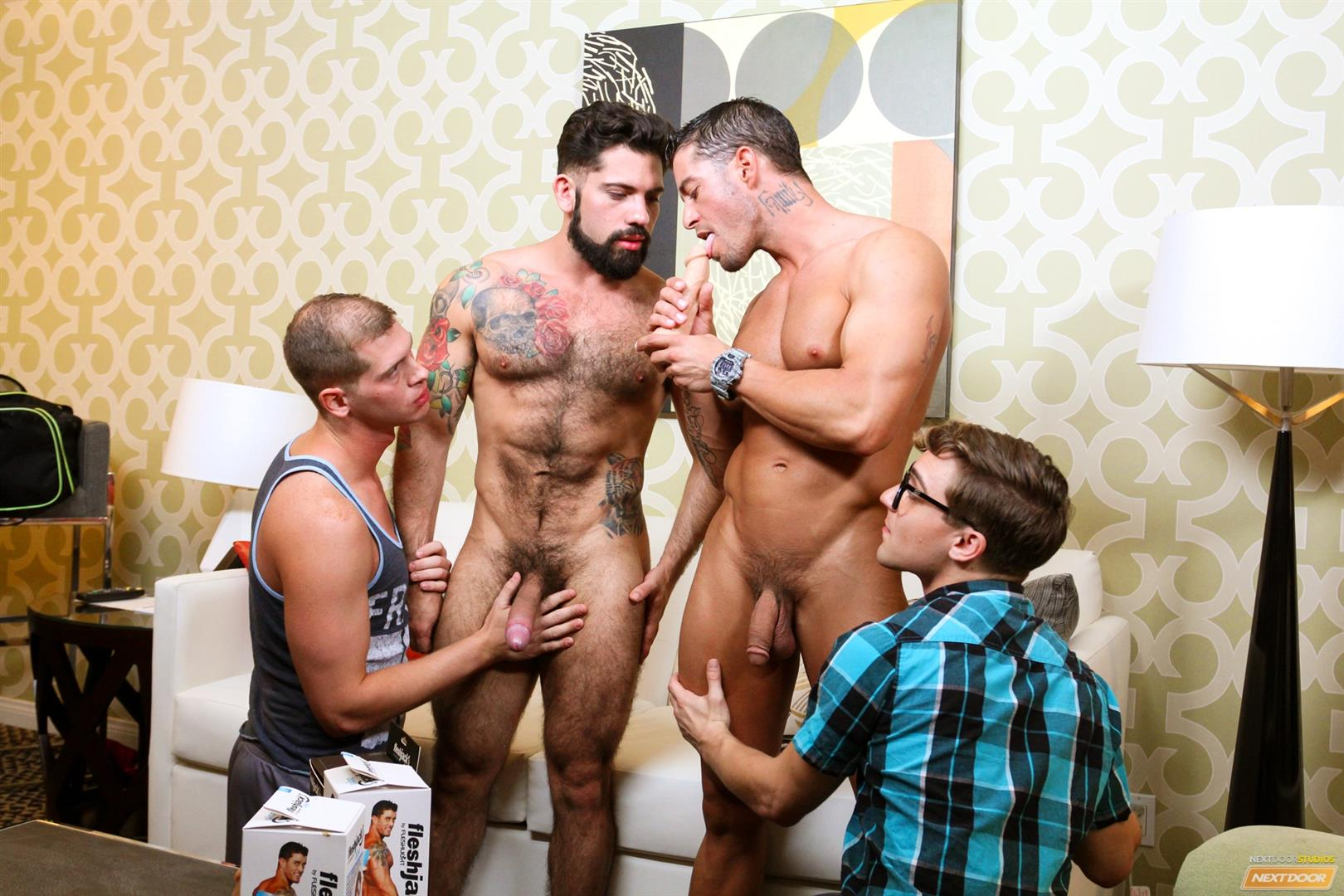 Cody Cummings and Tyler Morgan and Alessandro Del Torro Cock Sucking Lessons Amateur Gay Porn 10 Cody Cummings Gives The Boys Cock Sucking Lessons
