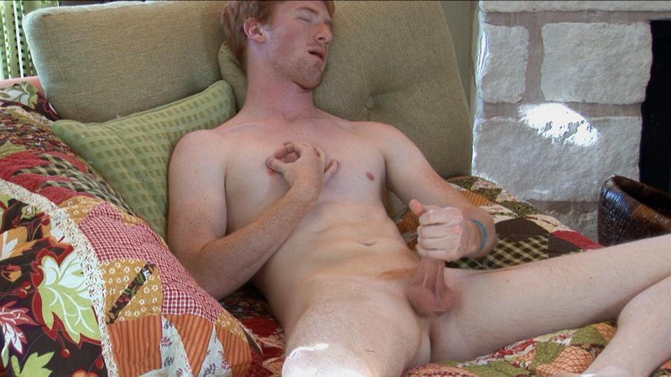 Southern-Strokes-Neil-Redhead-Ginger-Twink-Jerking-Off-Amateur-Gay-Porn-08 Happy St. Paddy's Day - Enjoy This Redheaded Twink Jerking Off