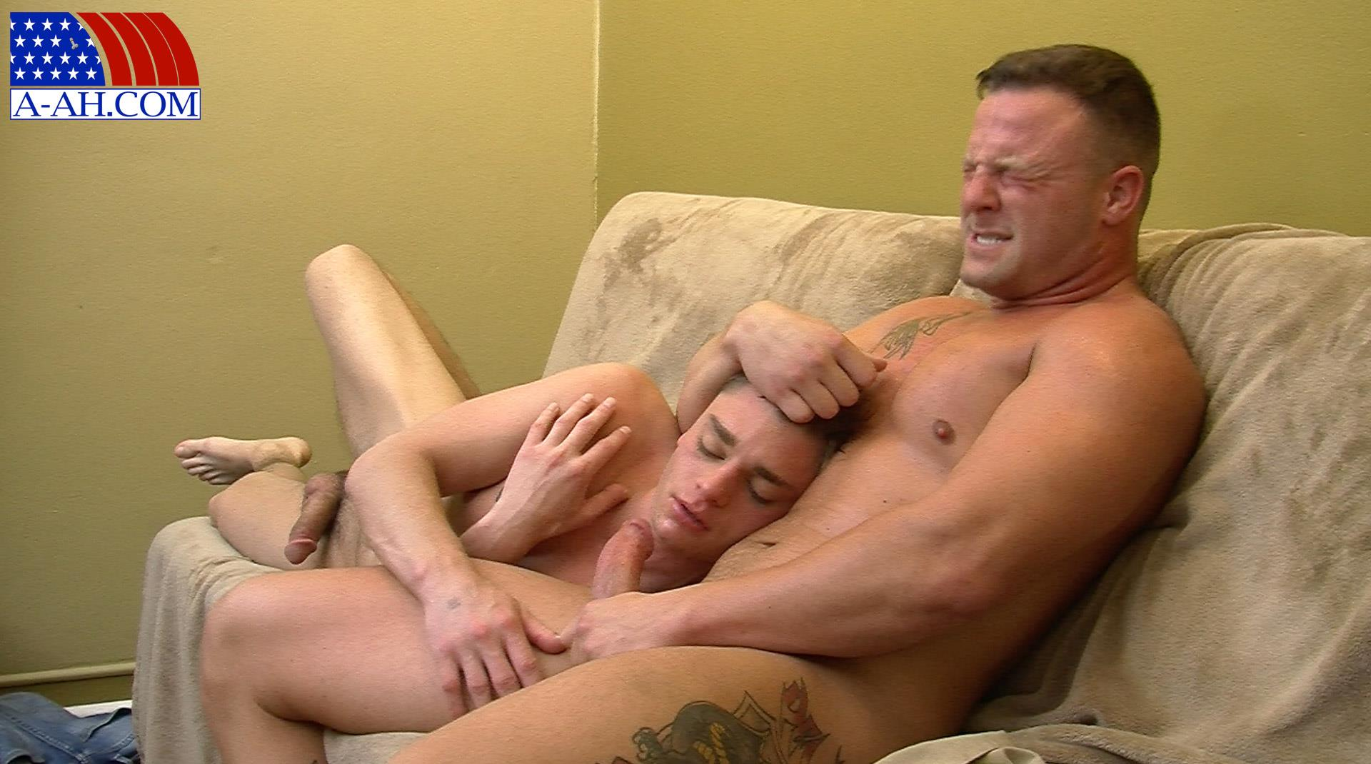 All American Heroes Naked Navy Guy Barebacking a Muscle Twink Amateur Gay Porn 15 Muscular Navy Corpsman Barebacking His Younger Workout Partner