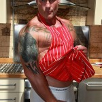 """Butch-Dixon-Big-T-British-Muscle-Daddy-With-A-Big-Uncut-Cock-Amateur-Gay-Porn-25-150x150 British Muscle Daddy Jerking Off His Big 9"""" Uncut Cock"""
