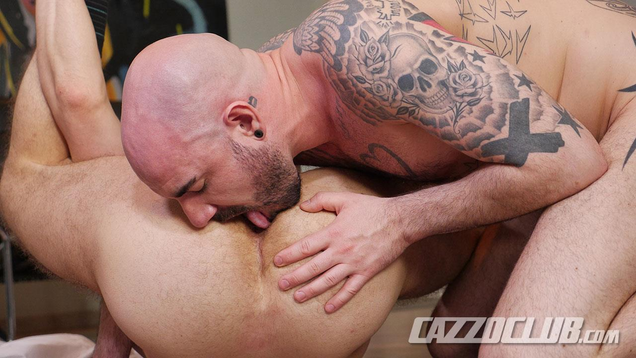 Cazzo-Club-Adam-Darcre-and-Matteo-Valentine-Bareback-Uncut-Cocks-Amateur-Gay-Porn-11 German Guys In Suits Fucking Bareback With Their Big Uncut Cocks