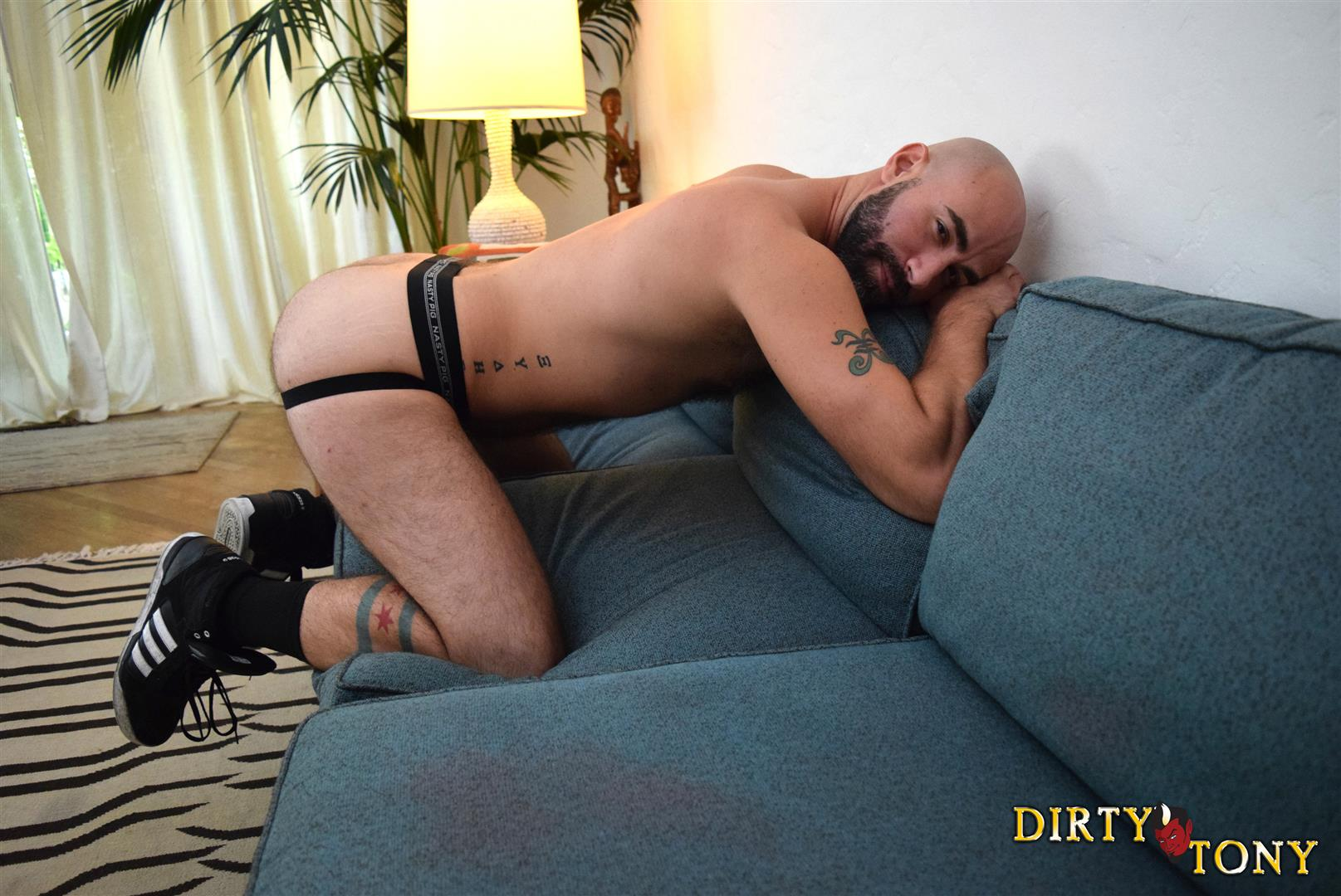 Dirty Tony Damon Andros Hairy Otter With A Thick Cock Amateur Gay Porn 02 Jocked Up Furry Otter Stroking His Thick Cock