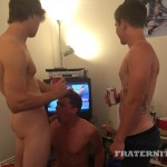 Fraternity X Naked College Guys Bareback Sex Party Amateur Gay Porn 02 150x150 Fraternity Boy Gets His Ass Filled With Cum