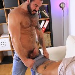 Hardkinks Jessy Ares and Martin Mazza Hairy Alpha Male Amateur Gay Porn 29 150x150 Hairy Muscle Alpha Male Dominates His Coworker