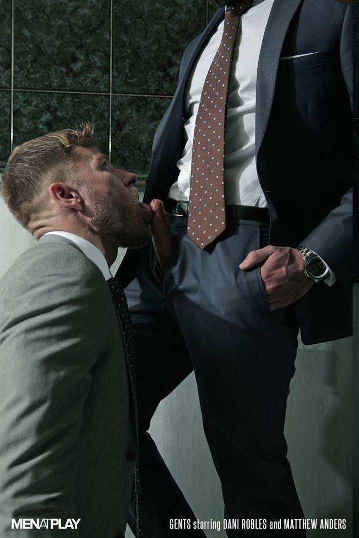Men-At-Play-Matthew-Anders-and-Dani-Robles-Men-In-Suits-With-Big-Cocks-Fucking-Amateur-Gay-Porn-03 Looking For Cock and A Fuck In the Men's Restroom