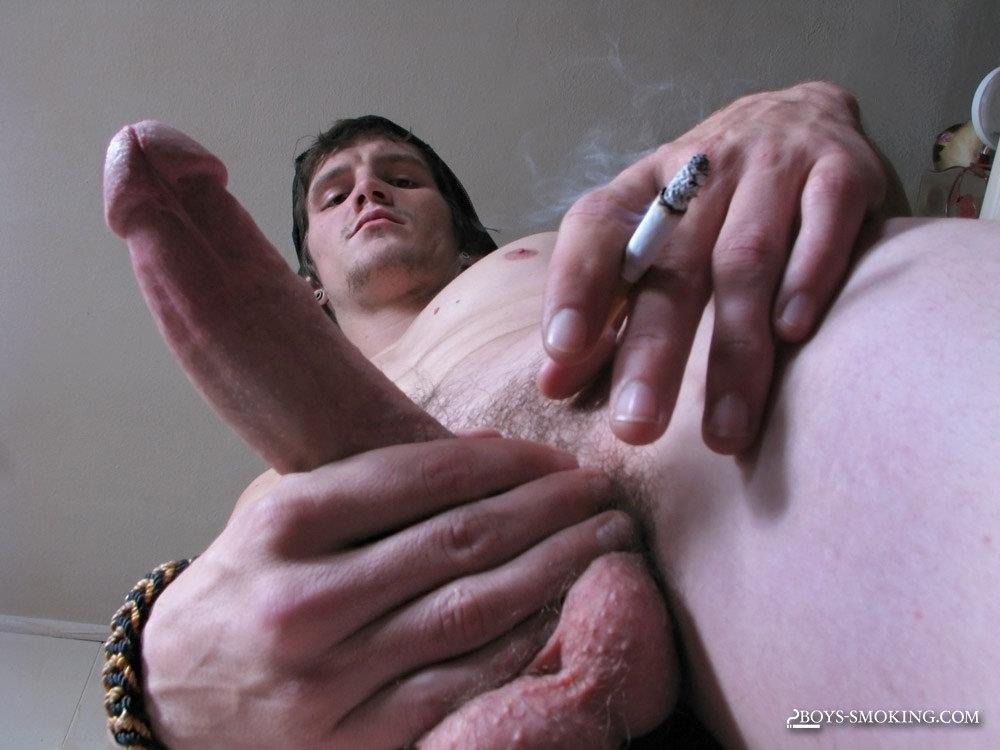 Boys-Smoking-Lex-Chain-Redneck-With-A-Big-Cock-Masturbation-Amateur-Gay-Porn-13 Straight Redneck Smokes While Stroking His Big Hard Cock