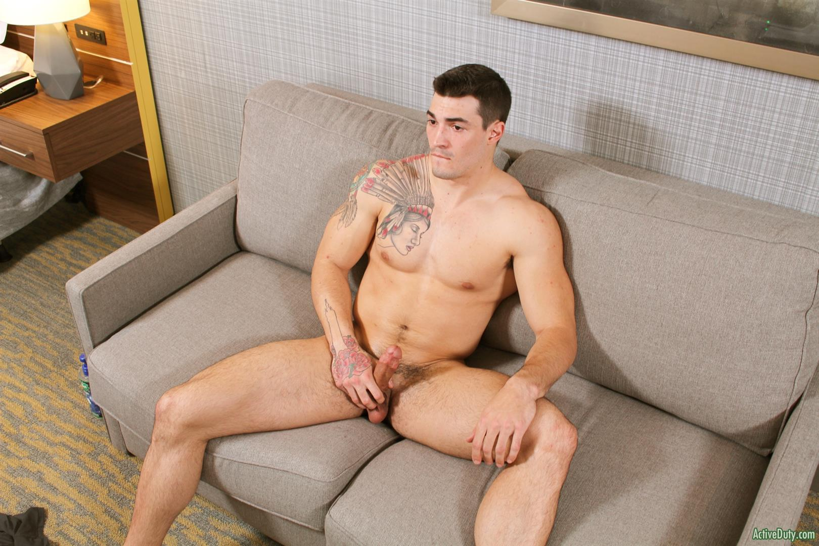 Active-Duty-Scott-Straight-Muscular-Army-Jock-Naked-Jerk-Off-Amateur-Gay-Porn-10 Straight Muscular Army Jock Auditions For Gay Porn
