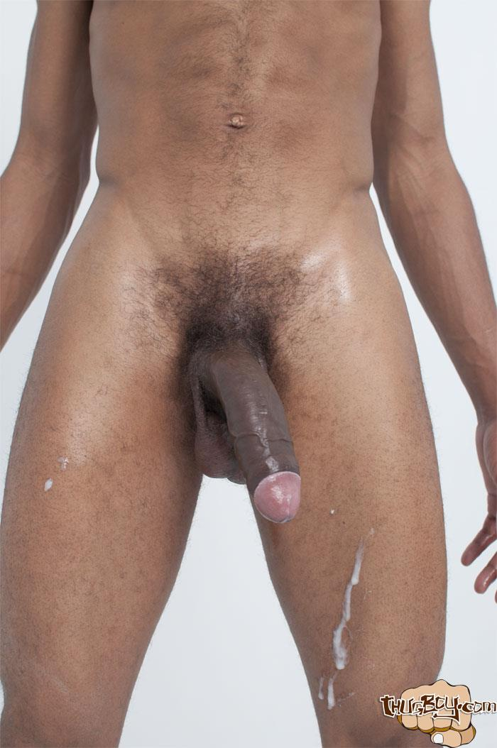 Thug-Boy-Frost-Big-Black-Thug-Cock-Jerking-Off-Amateur-Gay-Porn-48 Young Chicago Thug Boy Jerks His Big Black Cock