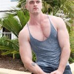 Active Duty Scott Ambrose Muscle Naked Marine Jerking Off Amateur Gay Porn 04 150x150 Hairy Muscular American Marine Jerks His Thick Cock