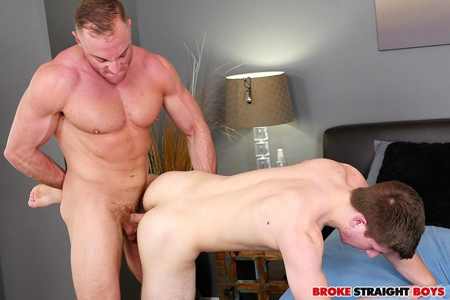 Broke-Straight-Boys-Jacob-Durham-and-Oliver-Saxon-Free-Bareback-Sex-19 Straight Muscle Jock Bareabacks His Straight Buddy For Cash
