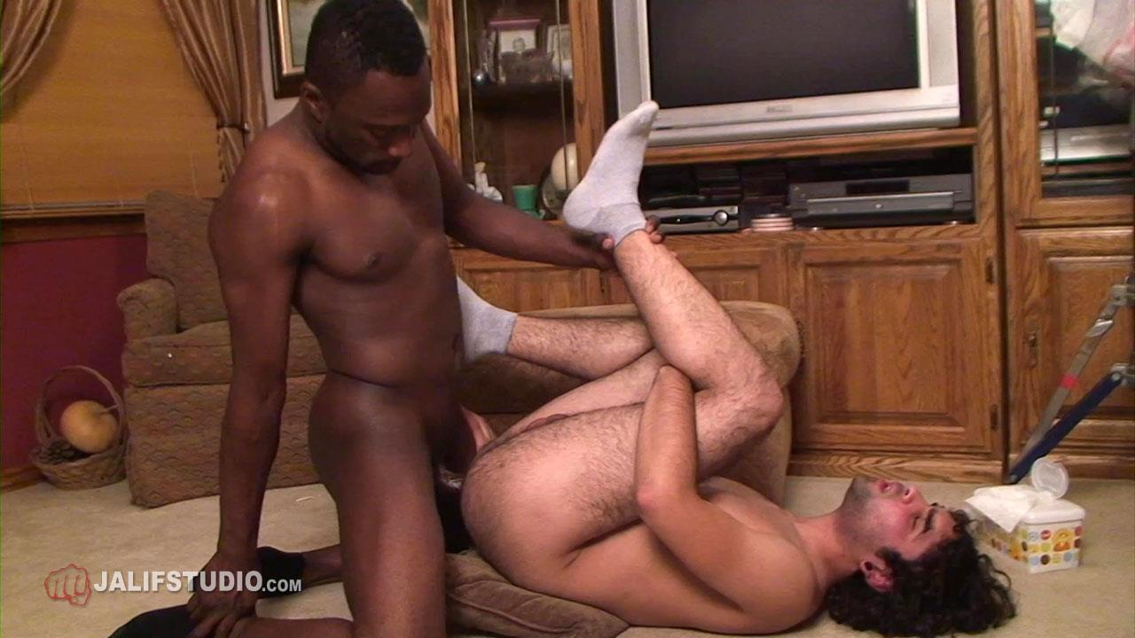 Jalif-Studio-Hot-Boi-and-Gabriel-Blue-Interracial-Bareback-Fucking-02 Big Thick Black Cock Bareback Fucking A Hairy White Boys Ass