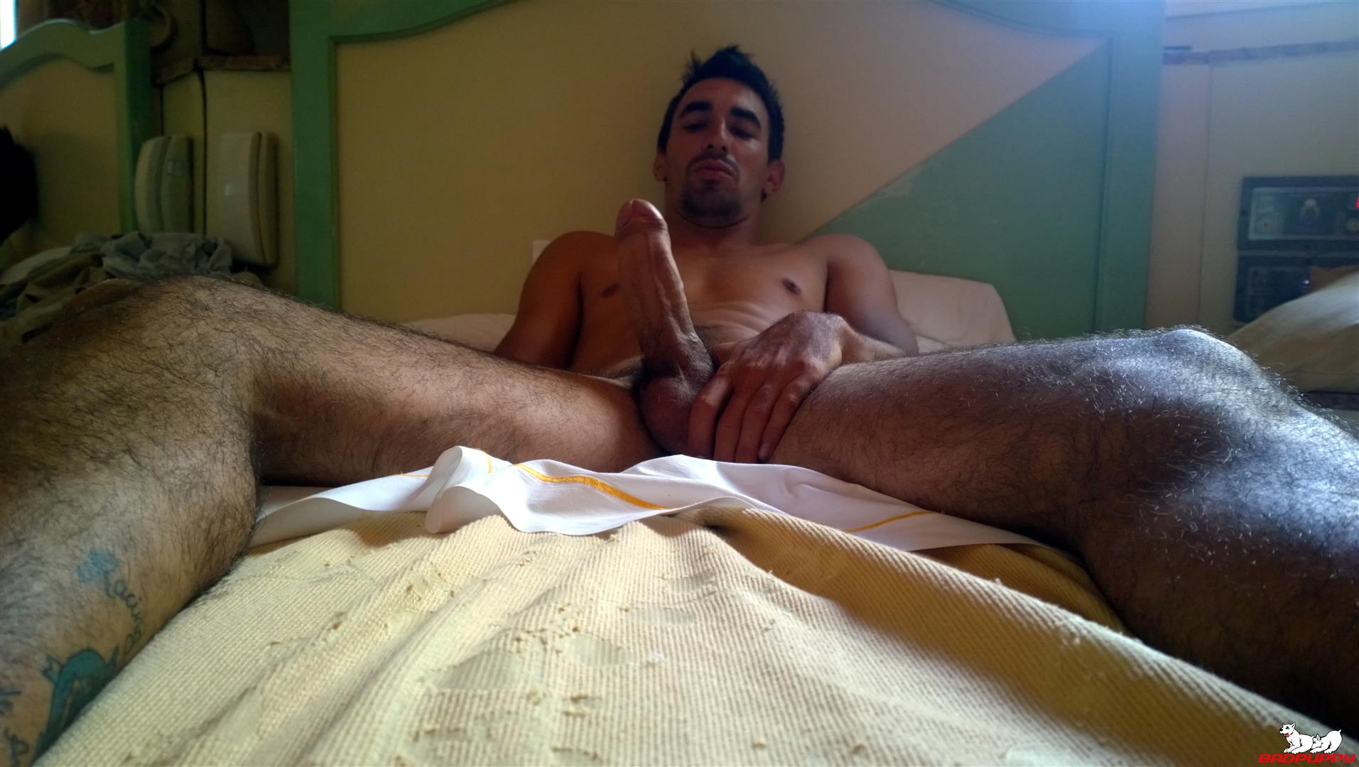Badpuppy Fabian Flores Argentinian with a Big Uncut Cock 07 Argentinian Hunk With A Big Uncut Cock Auditions For Gay Porn