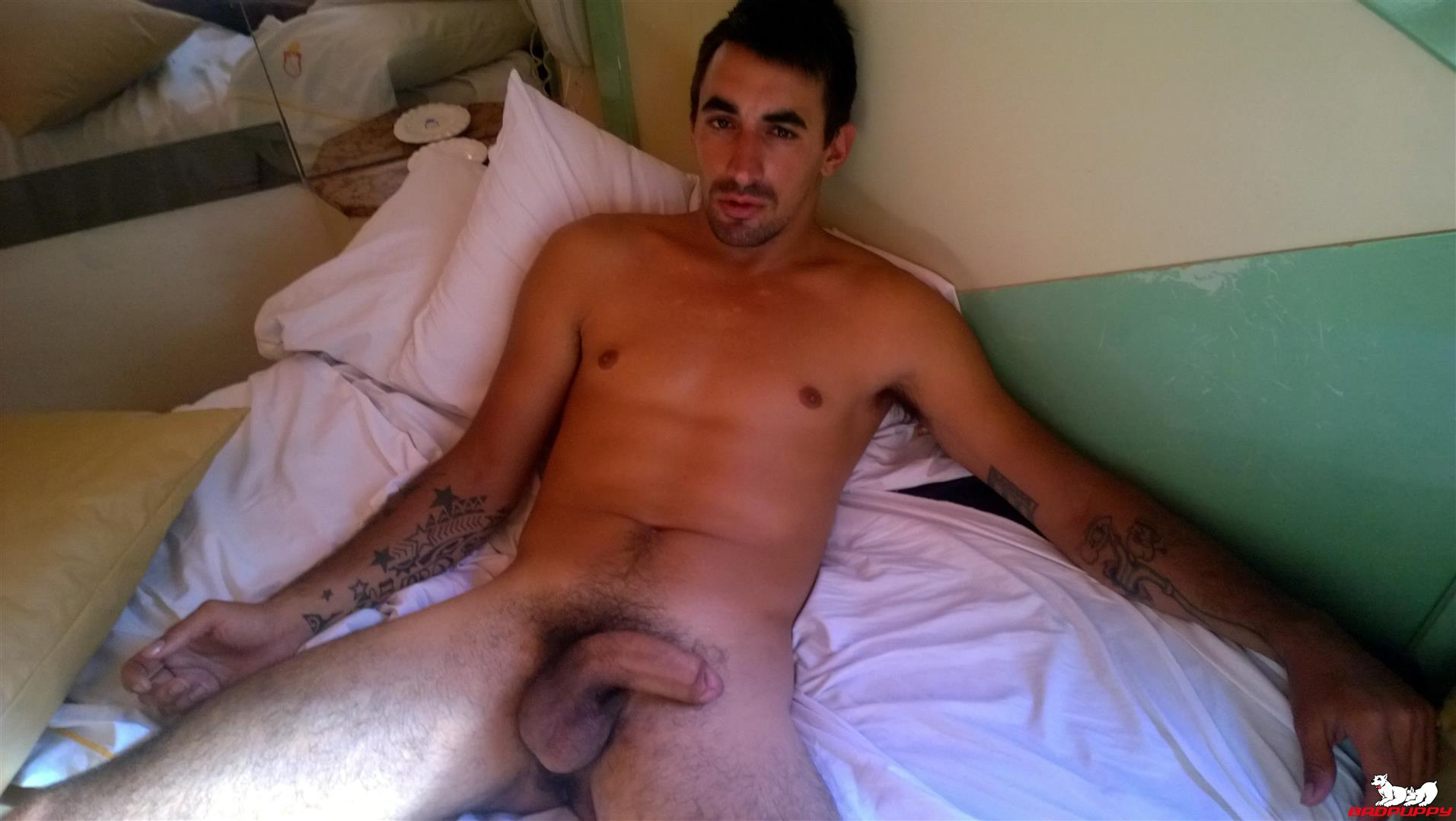 Badpuppy Fabian Flores Argentinian with a Big Uncut Cock 14 Argentinian Hunk With A Big Uncut Cock Auditions For Gay Porn