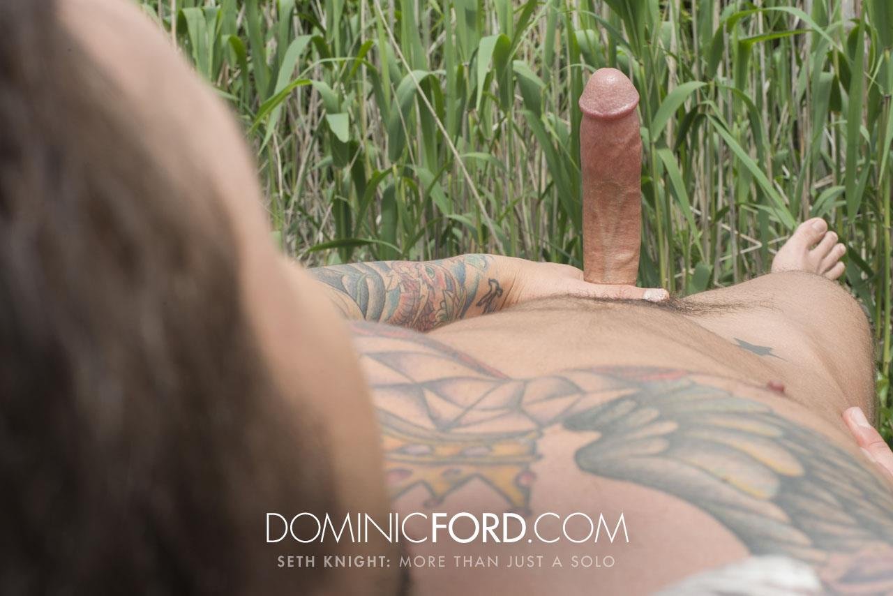 Dominic Ford Seth Knight Big Dick Masturbation 05 Seth Knight Strokes His Perfect Cock