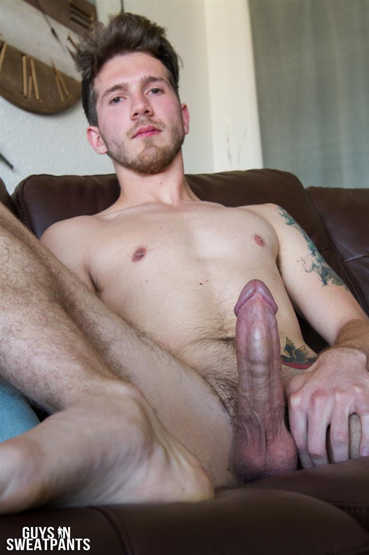 Guys-in-Sweatpants-Ash-Hendricks-and-Kaden-Dean-Bareback-Sex-05 Ash Hendricks Shoves His Fat Cock Up Kaden Dean's Raw Hole
