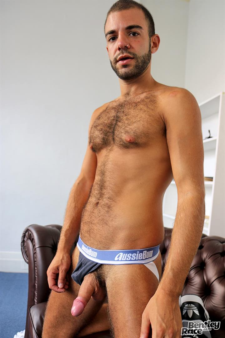 Bentley-Race-Layton-Charles-Hairy-Guy-With-A-Big-Uncut-Cock-Jerk-Off-23 Hairy English Guy With A Big Uncut Cock Jerks Off For The Camera
