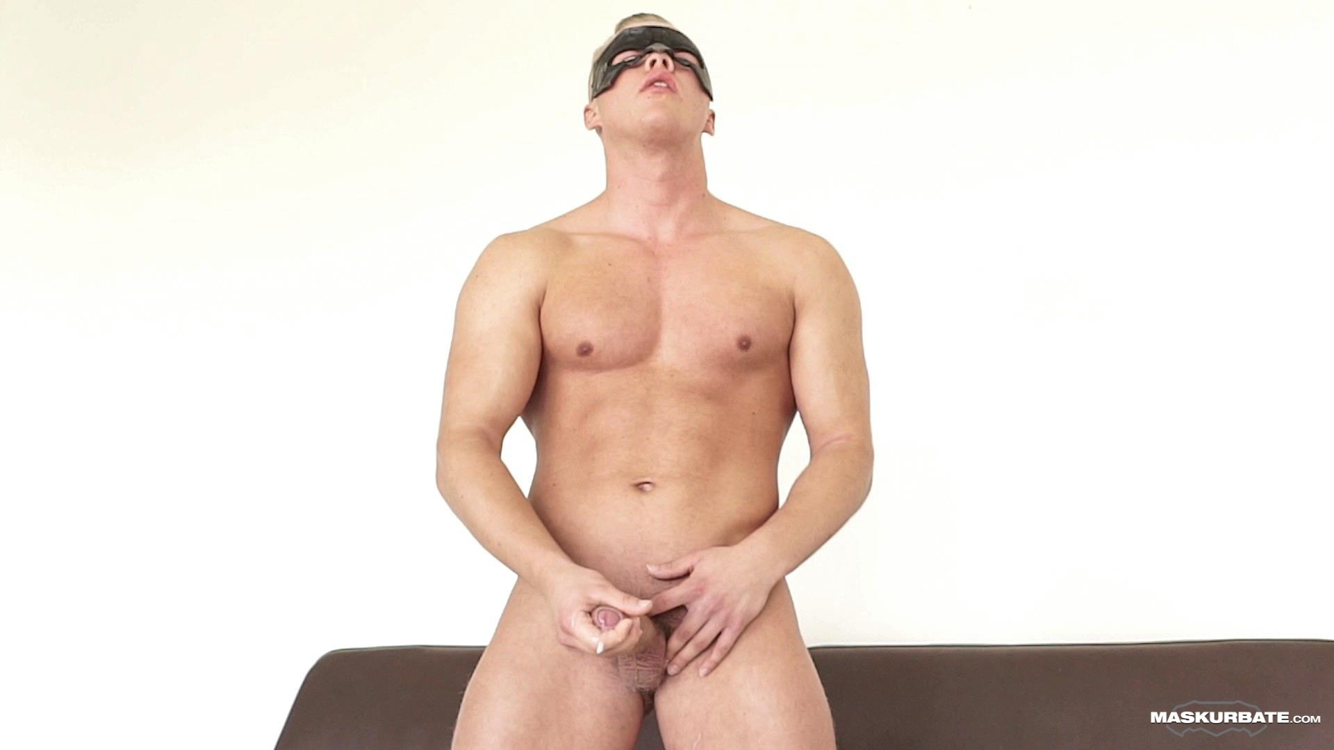 Maskurbate-Mickey-Big-Uncut-Cock-Muscle-Hunk-Jerking-Off-Video-11 Big Uncut Cock Blond Muscle Hunk Auditions For Gay Porn