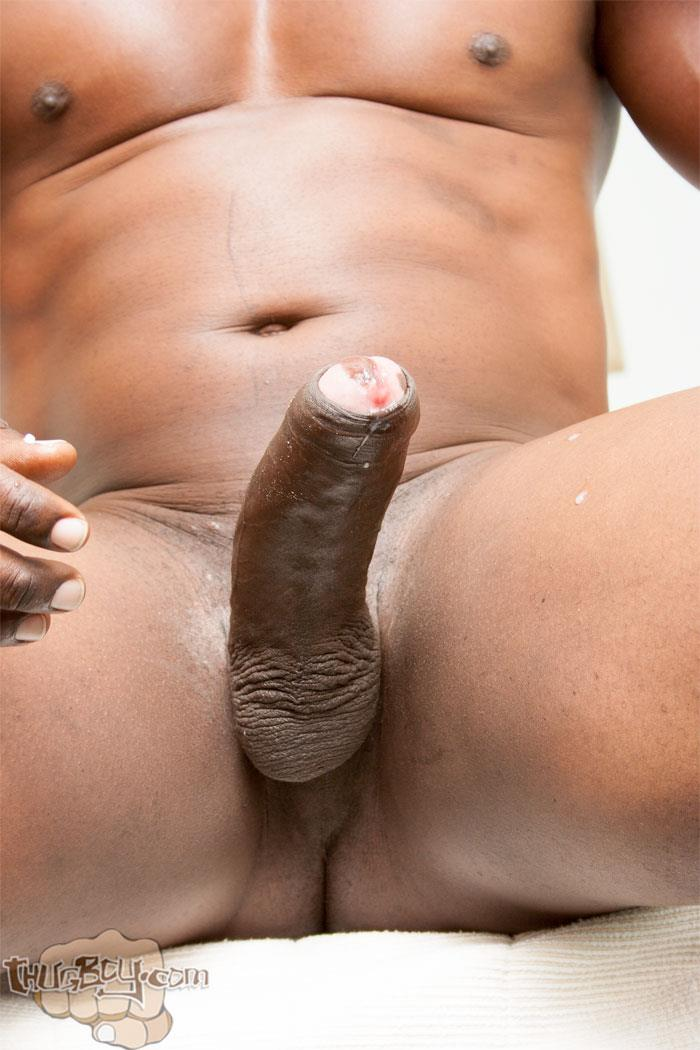 Thug-Boy-Danger-Naked-College-Football-Player-Jerking-off-His-Big-Black-Uncut-Cock-30 Former College Football Player Jerking His Big Black Uncut Horse Cock