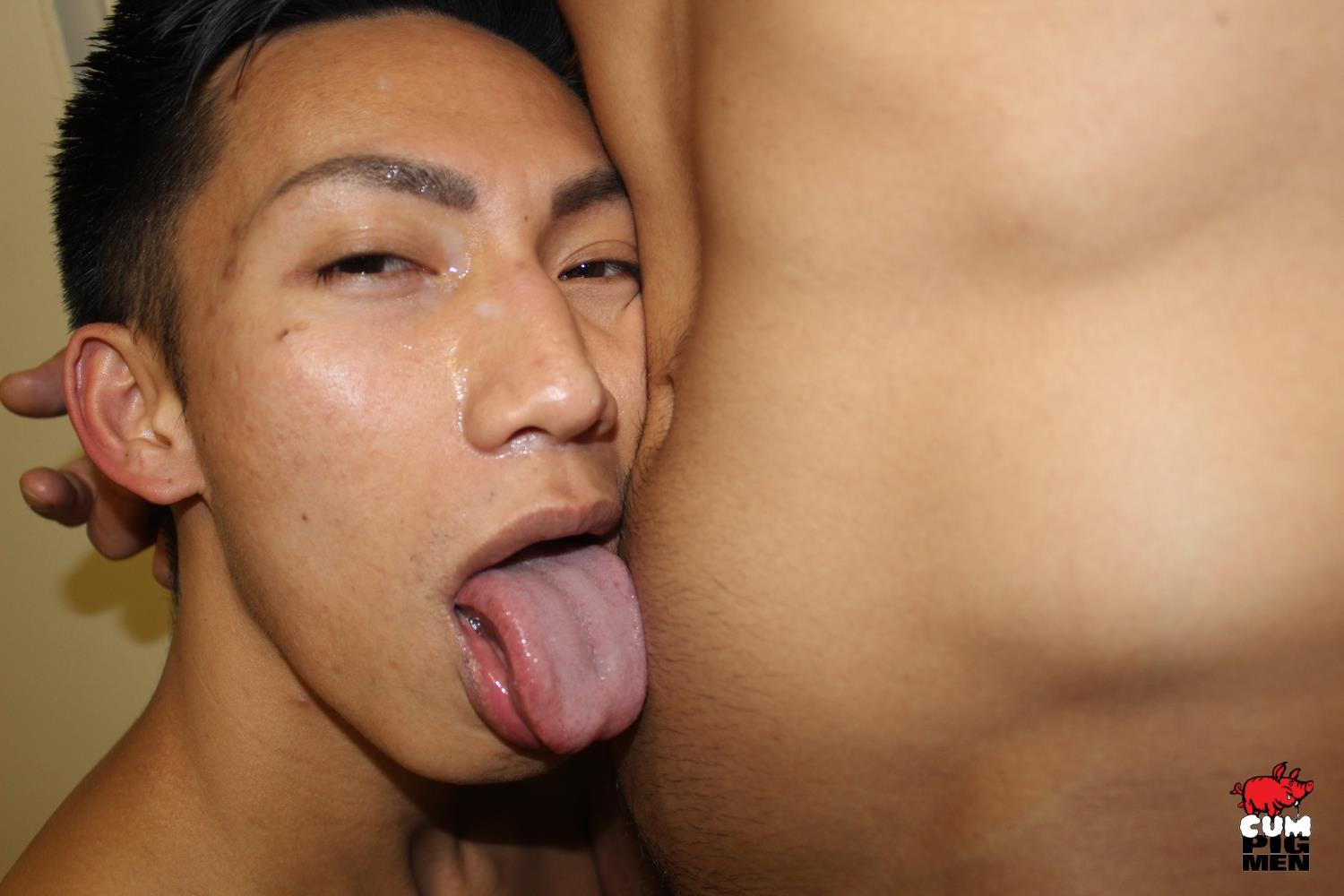 Cum-Pig-Men-David-Ace-and-Jace-Big-Dick-Asian-Sucking-Cock-Gay-Sex-Video-10 Horny Asian David Ace Sucks A Load Out Of A Big White Dick