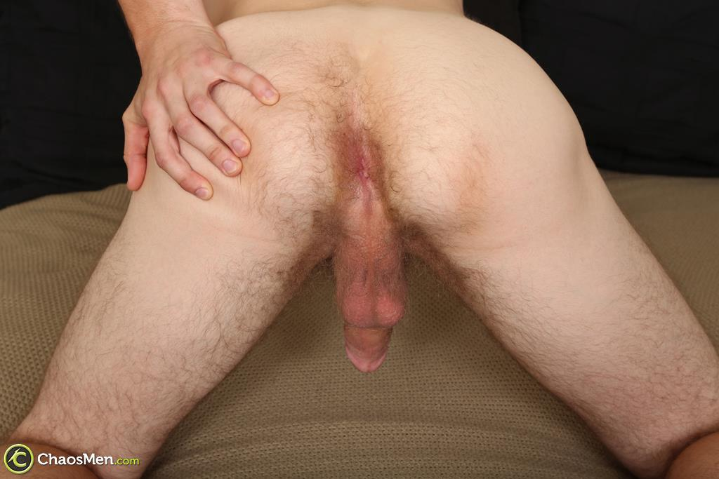 "Chaosmen-Beckett-Hairy-Otter-With-A-Thick-Cock-Jerking-Off-28 Bisexual Otter Hunk Strokes His Thick 8"" Big Cock"