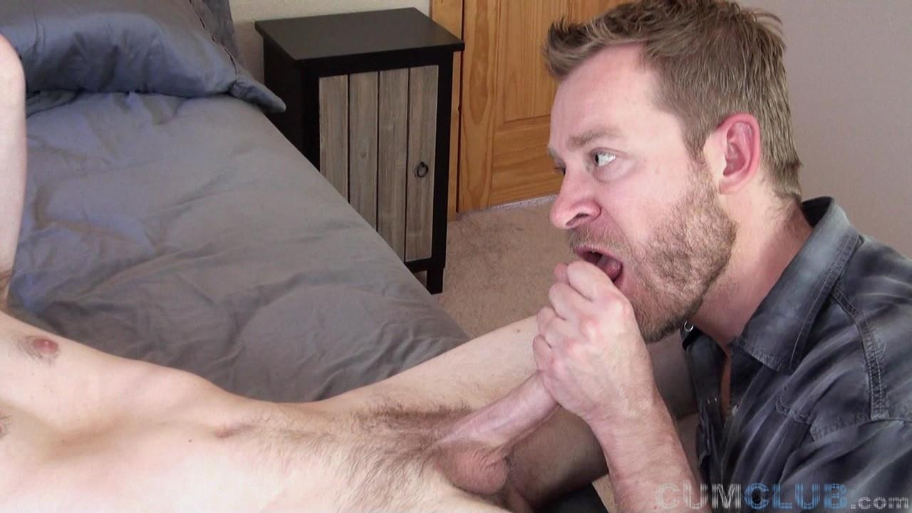 Cum-Club-Naked-Army-Guy-Gets-A-Blowjob-From-A-Guy-Redhead-24 Scruffy Army Boy Gets His Ginger Cock Sucked By A Man